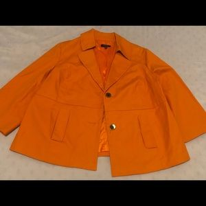 Rafealla Orange blazer size 2X